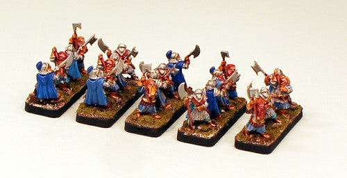 HOTT1005-Pro-Painted 15mm Mountain Dwarf Army