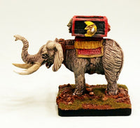 HOT30 War Elephant with Howdah-15mm Pro-Painted Monster