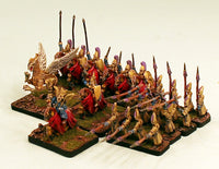 HOTT1001 High Elf Army-Pro-Painted 15mm Scale 24AP Army-Ready to ship