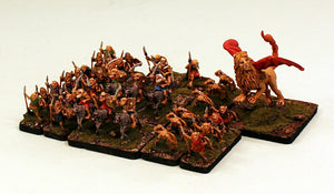 HOTT1004 Goblin Horde-15mm Army-Pro-Painted-Ready to Ship