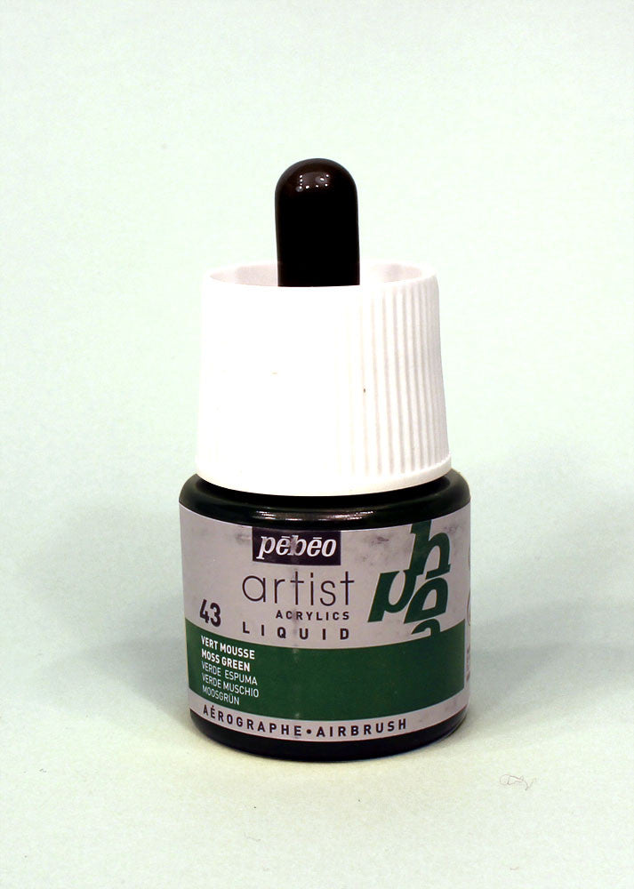 317043 MOSS GREEN 45ML ACRYLIC LIQUID INK