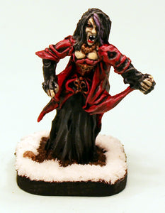 5005 Lady Wintermores Fangs-Pro-Painted  Lady Lamia Wintermore-Ready to Ship