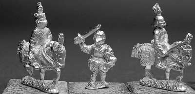 MEC16 Mounted Commanders and Foot Sergeant Set