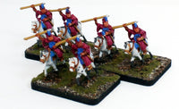 MRC4 Italian Stradiot 16thC Early: A Set of 3 Pro-Painted 15mm Cavalry Elements: Ready to Ship