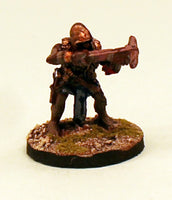 OH10-01: Orc aiming Crossbow-28mm Pro-Painted Fantasy-30mm Resin Base (1) Ready to Ship