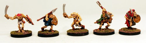 OH13 Goblin Warriors-Pro-Painted Ready to Ship