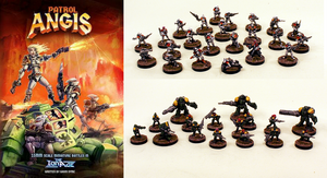 Patrol Angis15mm Skirmish Wargame Game Pack with A4 Book: Pro-Painted :Ready to ship