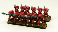 HOTT1010-Pro-Painted Dragonman Dracci Army