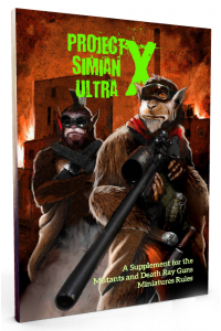 PROJECT SIMIAN ULTRA X -Supplement