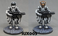 SUX005 Ape Spacesuit Trooper (supplied with two heads)