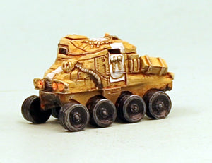 V009W Imperial Scout Car Wheeled: Pro-Painted 15mm Scale Sci-Fi Laserburn Vehicle-Ready to ship