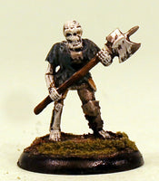 VNT15-02: Skeleton with Poleaxe Pro-Painted Undead-Ready to Ship
