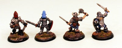 28mm VNT20 Anti Paladins-4 Pro-Painted Evil Magical Fighters