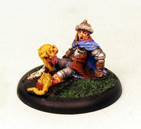 VNT29-02 Stricken Adventurer-Pro-Painted 28mm Fantasy Miniature