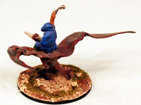 VNT2 Wraith on Pteradon-Pro-Painted Monster-50mm Round Base