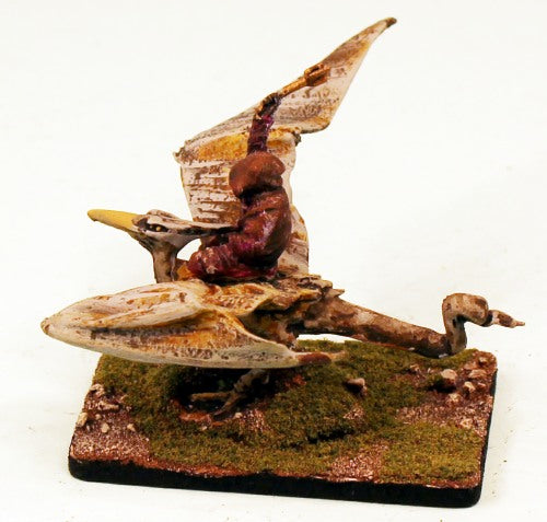 VNT2 Wraith on Pteradon-Pro-Painted Monster-40mm x 60mm Base
