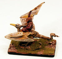 VNT2 Wraith on Pteradon-Pro-Painted Monster-40mm x 60mm Base: Ready to Ship