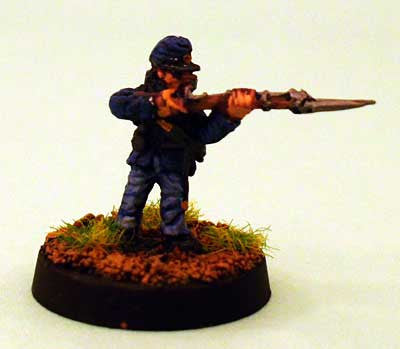 A3 Union Infantry Firing