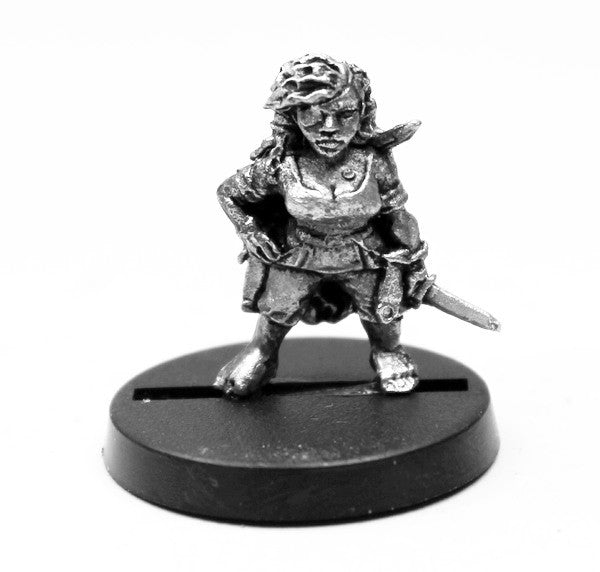AAB005 Female Halfling Adventurer