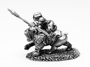 AAB010 Mastiff with Halfling Rider