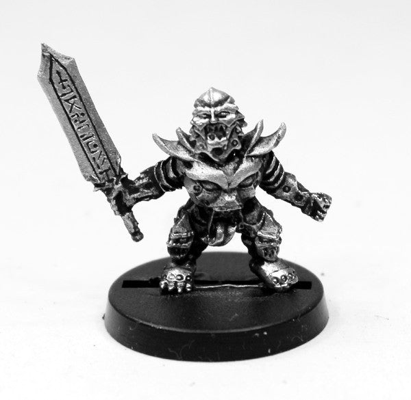 AAB020 Champion Possessed Dwarf with Runesword