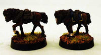 AG5 Pair of Limber Horses