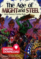 Age of Might and Steel Rulebook - Paid Digital Download