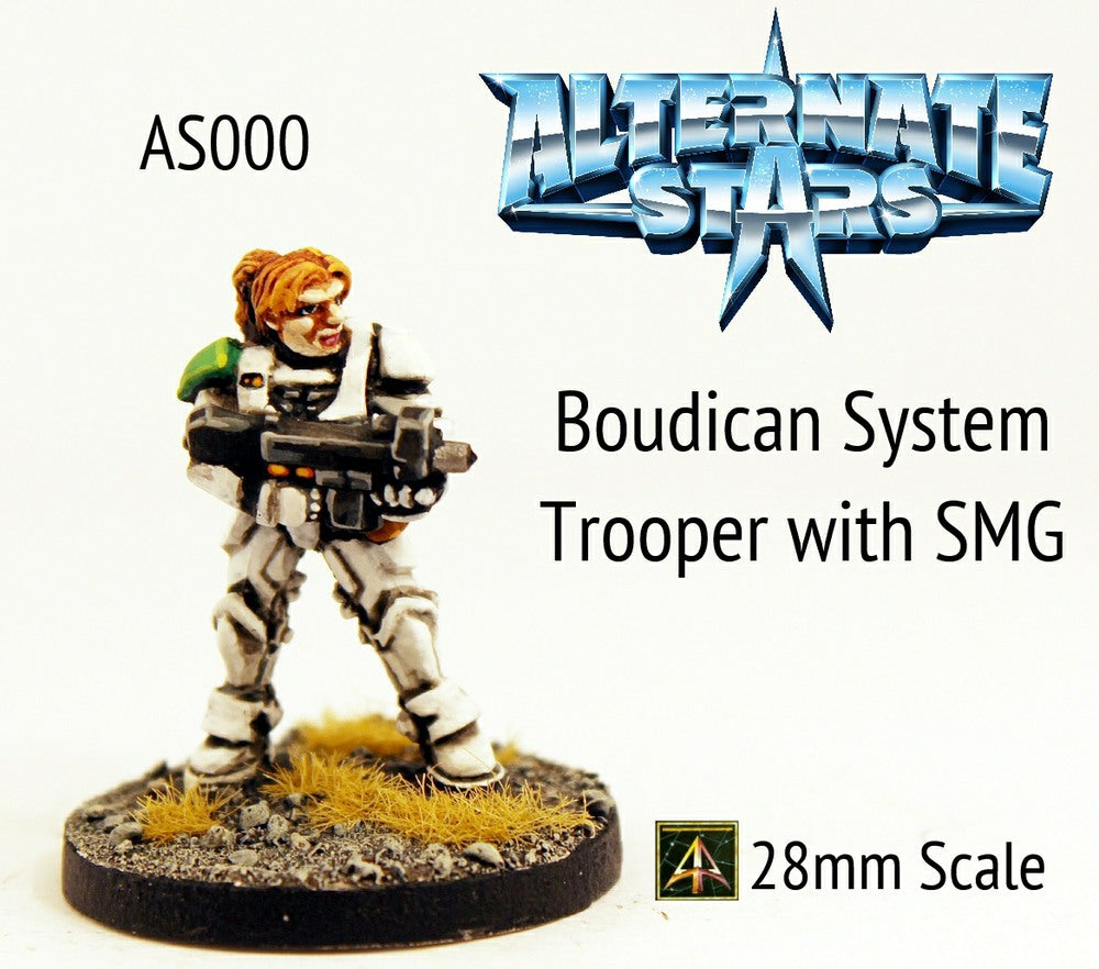 AS000 Boudican System Trooper with SMG