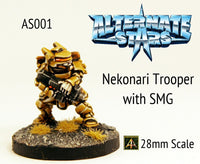 AS001 Nekonari Trooper with SMG