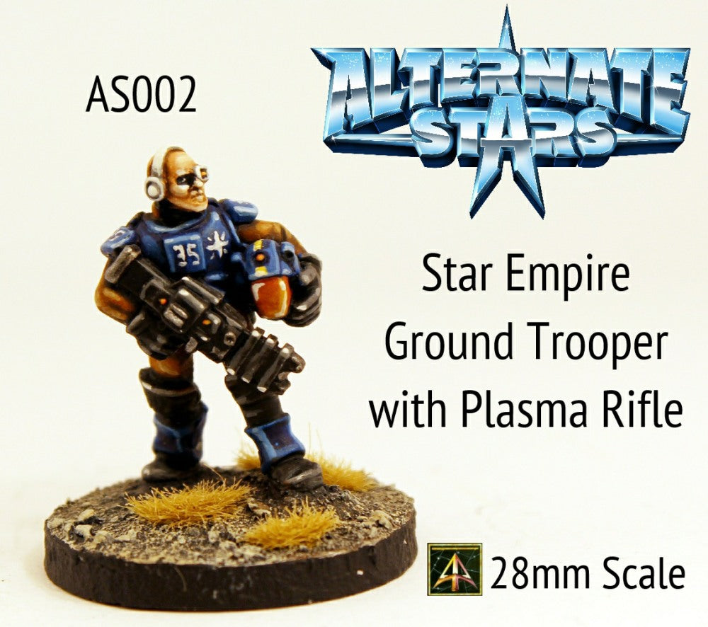 AS002 Star Empire Ground Trooper with Plasma Rifle