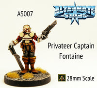 AS007 Privateer Captain Fontaine