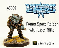 AS008 Fomor Space Raider with Laser Rifle