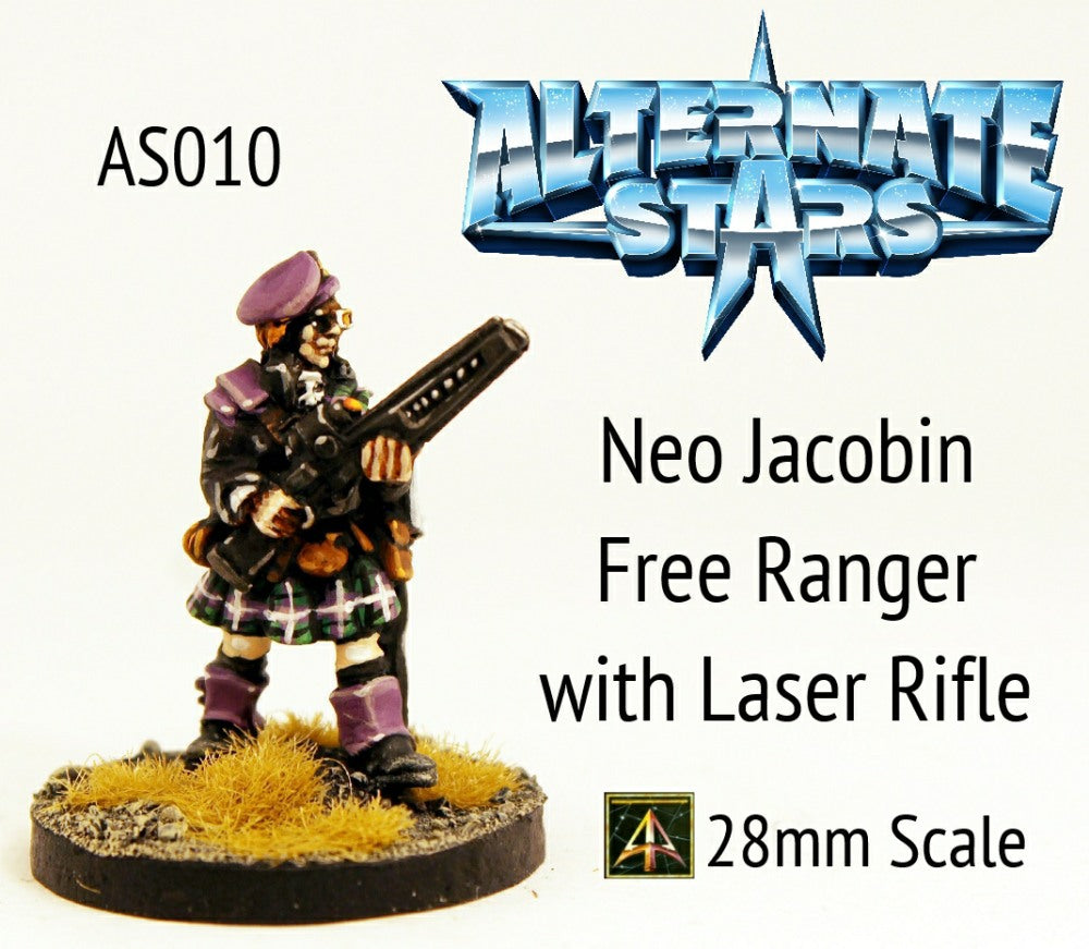 AS010 Neo Jacobin Free Ranger with Laser Rifle