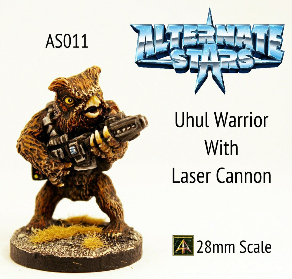 AS011 Uhul Warrior with Laser Cannon