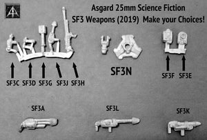SF3 Weapons Set 2019 (Choose a pack or from the pack)