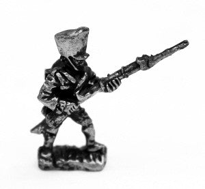 P100 Prussian Fusilier Musketeer Advancing