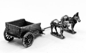 WAG1 Open Wagon Kit - Horse and Musket Period