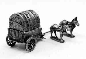 WAG2 Covered Wagon Kit - Horse and Musket Period