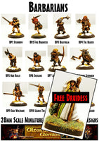 BP13 The Barbarian Warpack with free Druidess included