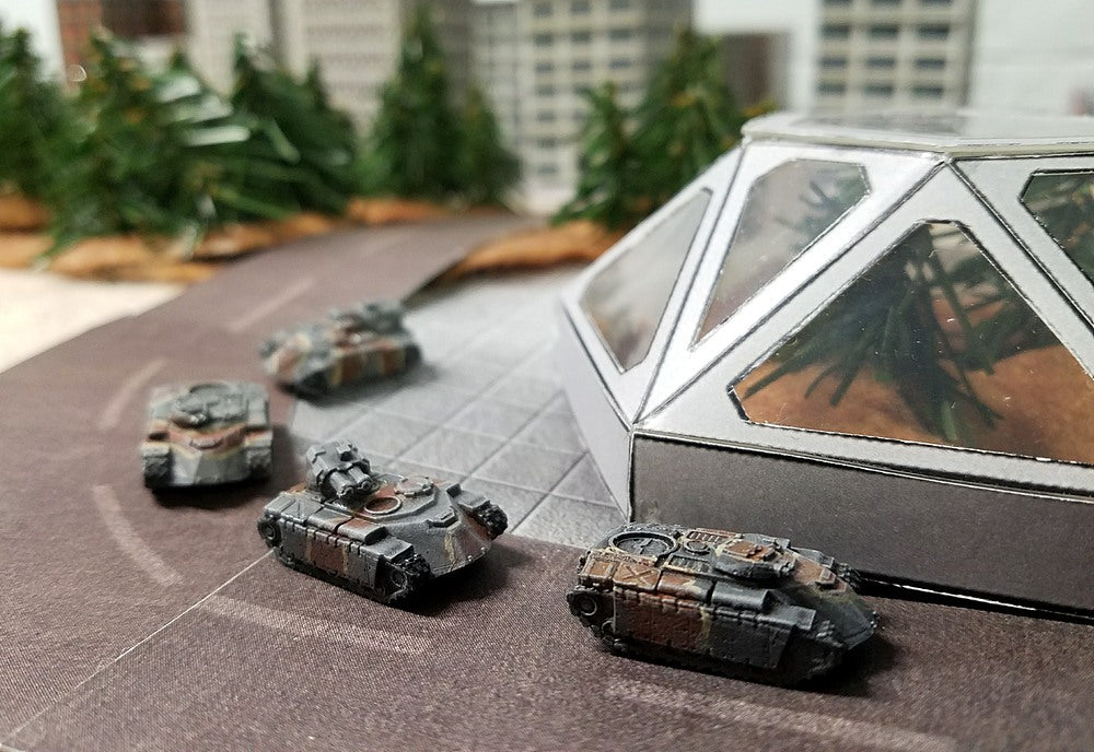 BR002 Armadillo APC Section- 4 Vehicle Pack