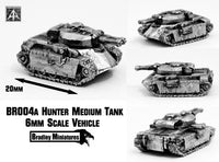 BR004 Hunter Medium Tank (Pack of Four or Single)