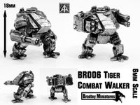 BR006 Tiger Combat Walker (Pack of Four or Single)