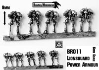 BR011 Lionsguard Power Armor (25 Infantry or 5 Infantry)