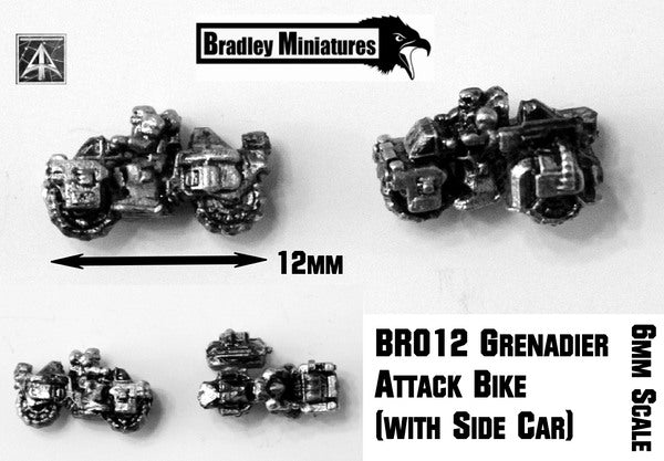 BR012 Grenadier Attack Bike (Pack of Twenty or Single Bike)