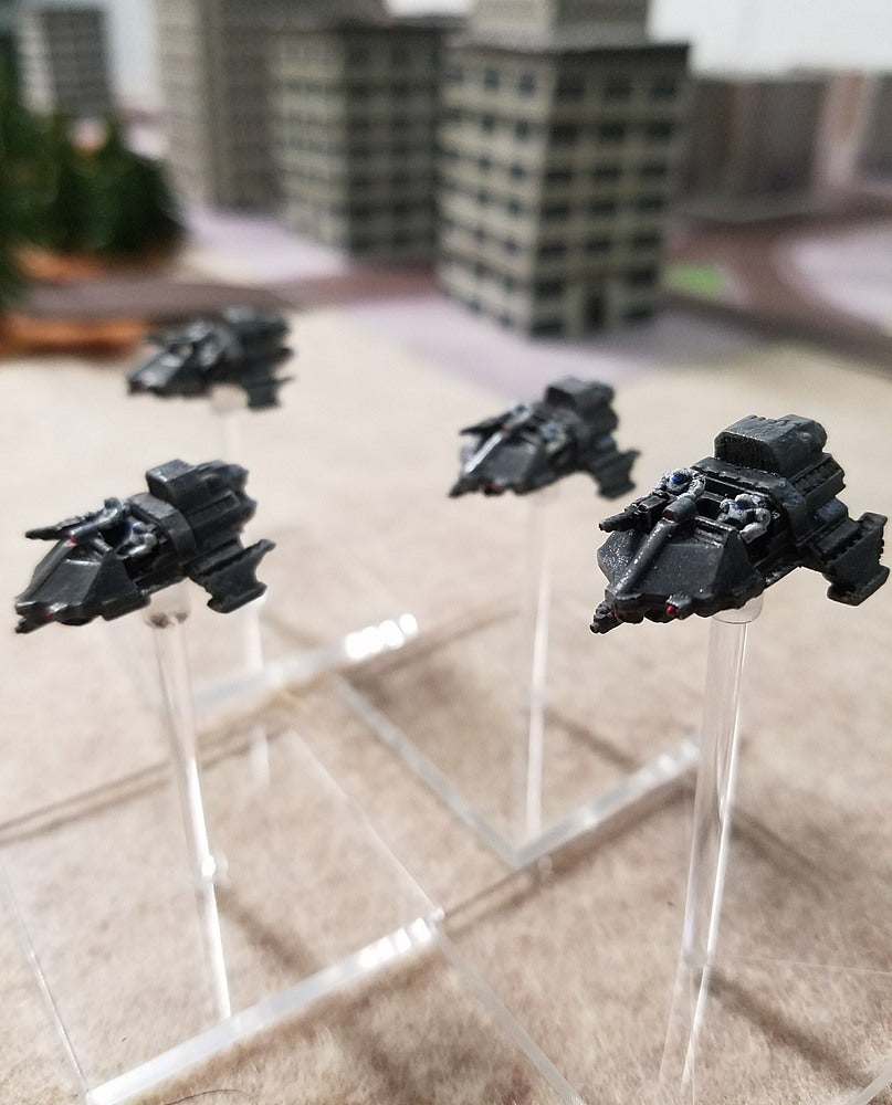 BR013 Gryphon Gravscout Squadron - 4 Vehicle Pack