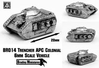 BR014 Trencher APC Colonial (Pack of Four or Single)