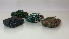 BR006 Tiger Combat Walker Detachment - 4 Vehicle Pack