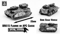 BR015 Flame APC Caisse (Pack of Four or Single)