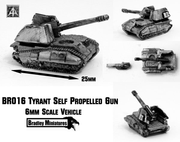 BR016 Tryant SPG Caisse (Pack of Four or Single)