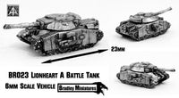 BR023 Lionheart A Battle Tank (Pack of Four or Single)
